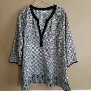 Antilia Femme Printed Tunic - Size 3X